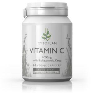 Cytoplan Vitamin C 1000mg + Bioflavanoids – C vitamiin bioflanoididega, 60 kapslit