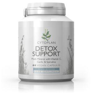 Cytoplan Detox Support – toidulisand puhastuskuuri toetamiseks, 60 kapslit