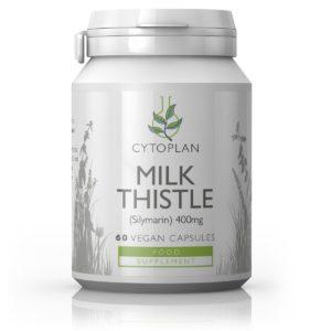 MAARJAOHAKA PULBER, Cytoplan Milk Thistle, 60 kapslit