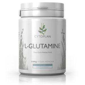 Cytoplan L-Glutamine, 100 g pulber