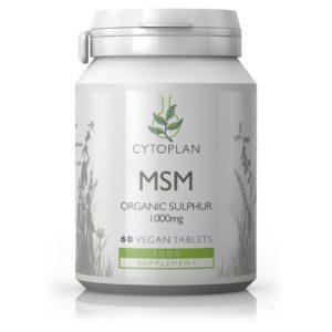 MSM – ORGAANILINE VÄÄVEL, Cytoplan MSM – Organic Sulphur, 60 tabletti