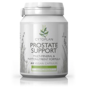 PROSTATE SUPPORT TOIDULISAND MEESTELE, Cytoplan Prostate Support multi-mineral and phytonutrient formula, 120 kapslit