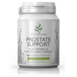 Cytoplan Prostate Support toidulisand meestele, 120 kapslit