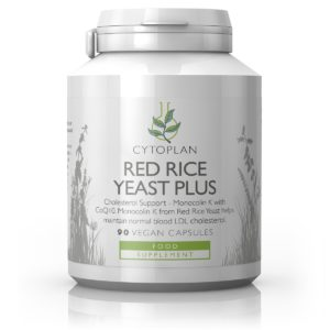 PUNASE RIISI PÄRM, Cytoplan Red Rice Yeast Plus, 90 kapslit