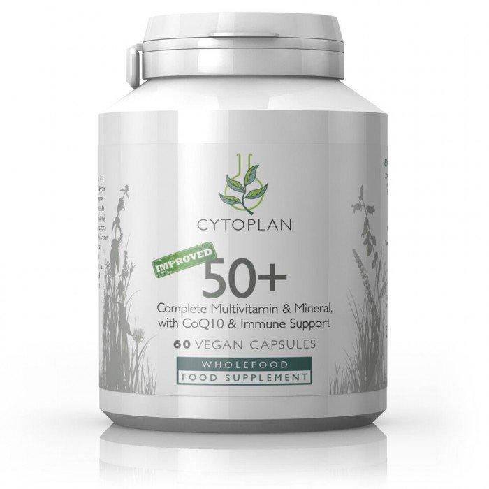 Cytoplan 50+ immuunsust toetav toidulisand, sobiv üle 50 aastastele, 60 kapslit