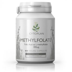 METÜÜLFOLAAT, Cytoplan Methylfolate Supplement, 60 kapslit