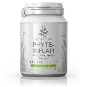 Cytoplan Phyte-Inflam – taimne põletikuvastane toidulisand, 60 kapslit