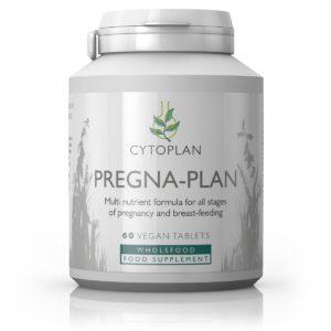 Cytoplan Pregna Plan – toitainete multikompleks raseduse ja imetamise ajaks, 60 kapslit
