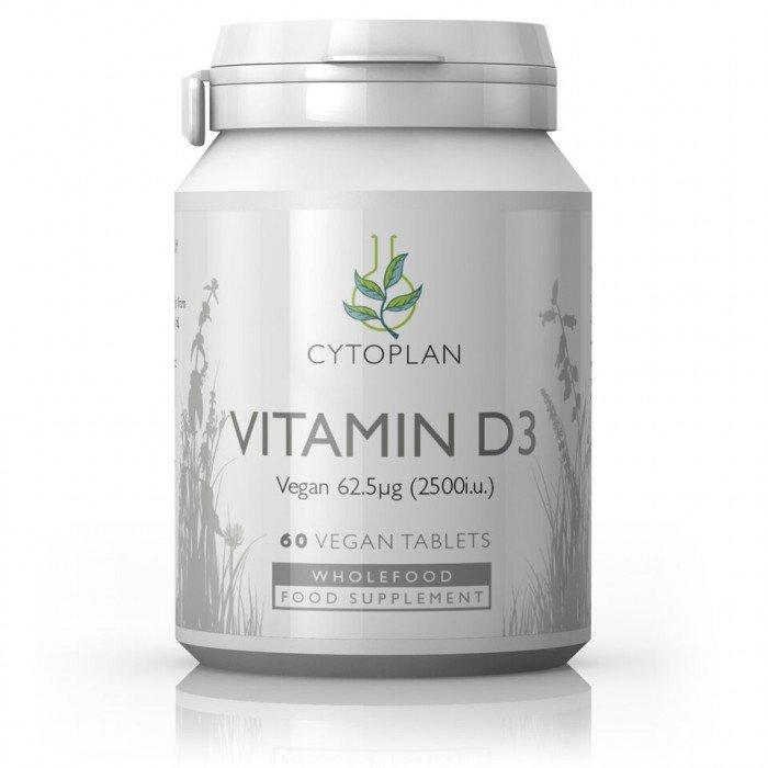 20684dc898e VITAMIINID LASTELE MAASIKA TBL N30 - Tervis N1. Cytoplan Vitamin D3 Vegan,  D3-vitamiin taimetoitlastele, 60 tabletti
