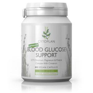 CYTOPLAN Blood Glucose Support – veresuhkru reguleerimist toetav toidulisand 60 kapslit
