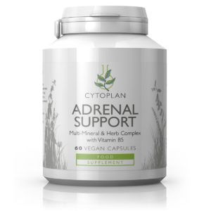 Cytoplan Adrenal Support – toidulisand, mis pakub tuge stressiperioodil , 60 kapslit