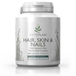 Cytoplan Hair, Skin & Nails – multi-toitainete ja taimede kompleks 60 tabletti