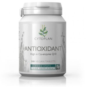 Cytoplan Antioxidant: C & E, CoQ10 30 tabletti