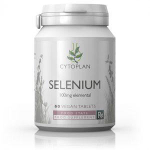 Cytoplan Selenium 60 tabletti