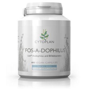 Cytoplan Fos-A-Dophilus – probiootikum üle 40.a. vanustele, 60 kapslit