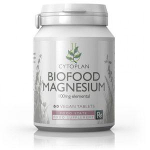 Cytoplan Biofood Magnesium – magneesiumi toidulisand probiootikumide ja aminohapetega 60 tabletti