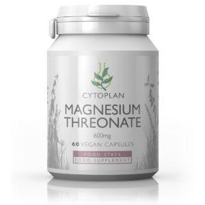 Cytoplan Magnesium Threonate, magneesiumtreonaat, 60 vegan kapslit