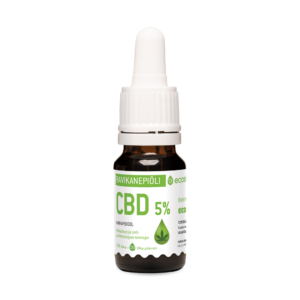Ecosh kanepiõli ekstrakt, kannabidiool (CBD) 5% – 10ml