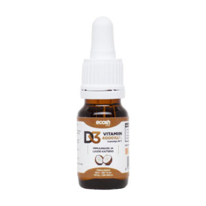 Ecosh Life, VITAMIIN D3 4000 IU kookosõliga, 10 ml