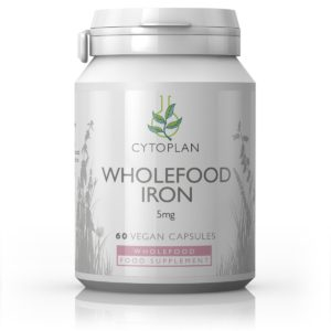Cytoplan Wholefood Iron, raud taimsest allikast, 60 tabletti