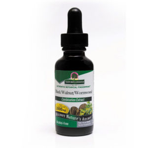 Nature's Answer Black Walnut & Wormwood, Musta pähkli ja koirohu tõmmis 450 mg, 30 ml, alkoholivaba