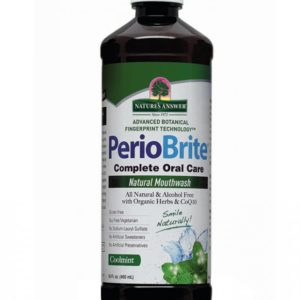 Nature's Answer PerioBrite AF Mouthwash, suuvesi, 480 ml
