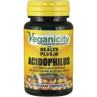 Veganicity Acidophilus probiootikum, 60 kapslit