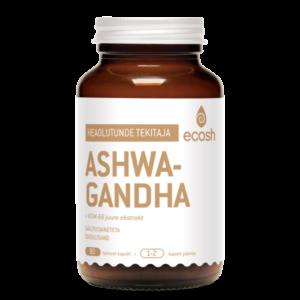 Ecosh Life, ASHWAGANDHA, 90