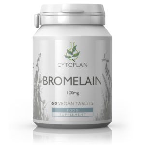 BROMELAIIN, Cytoplan Bromelain, 60 tabletti