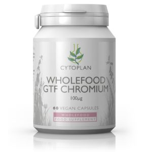 KROOM, Cytoplan Wholefood GTF Chromium, 60 kapslit