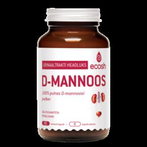 Ecosh Life, D-MANNOOS, 90 taimset kapslit