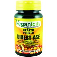 Veganicity Digest-Ase, ensüüm, 60 kapslit