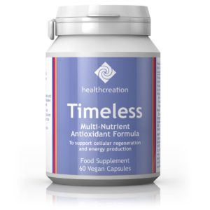MULTI-TOITAINETE JA ANTIOKSÜDANTIDE SEGU, Health Creation Timeless Multi-nutrients and antioxidants, 60 kapslit