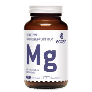 MAGNEESIUM GLÜTSINAAT, Ecosh Life Magnesium Glycinate, 90 kapslit