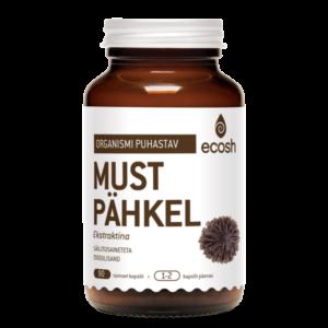 MUSTA PÄHKLI EKSTRAKT, Ecosh Life Black walnut extract, 90 kapslit