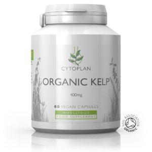 Cytoplan Organic Kelp- orgaaniline pruunvetikas, 60 kapslit