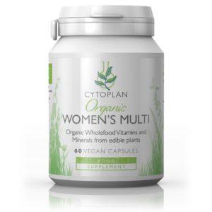 CYTOPLAN Organic Women´s Multi, 60 kapslit
