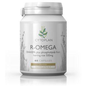 Cytoplan R-Omega –  premium kvaliteediga ja kõrge fosfolipiidide sisaldusega toidulisand, 60 kapslit