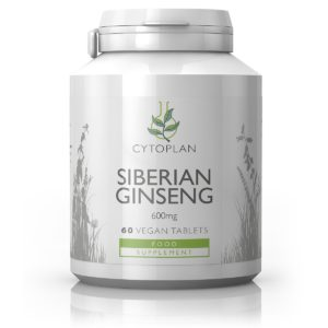 Cytoplan Siberian Gingseng, 60 tabletti