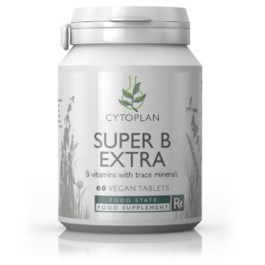 SUPER B EXTRA MINERAALIDEGA, Cytoplan Super B Extra with Trace Minerals, 60 tabletti