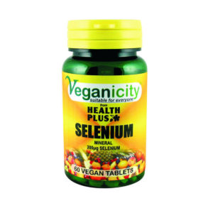 Veganicity Selenium 200μg, 60 tabletti