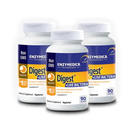 Digest Live Bacteria 3-ne komplekt