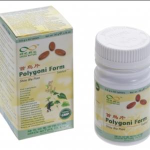 Maksa ja neerude toetuseks, PolygoniFormTablets(Shou Wu Pian), 60 tabletti
