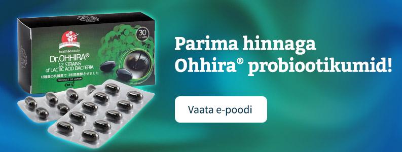 Dr Ohhira probiootikumid