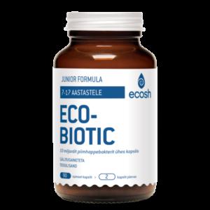 Ecosh Life ECOBIOTIC Junior Formula, probiootikum noortele (7-17.a.) 90 kapslit