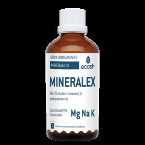 MINERALEX SÜVA OOKEANIVEE MINERAALID, Ecosh Life Mineralex – deep ocean water minerals, 100ml