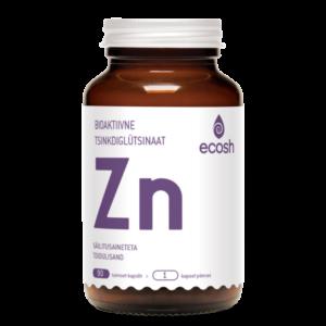 TSINK DIGLÜTSINAAT, Ecosh Life Zinc diglycinate, 90 kapslit