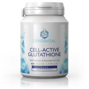 Dentavital Cell-Active Glutathione, Glutatioon 60 vegan kapslit