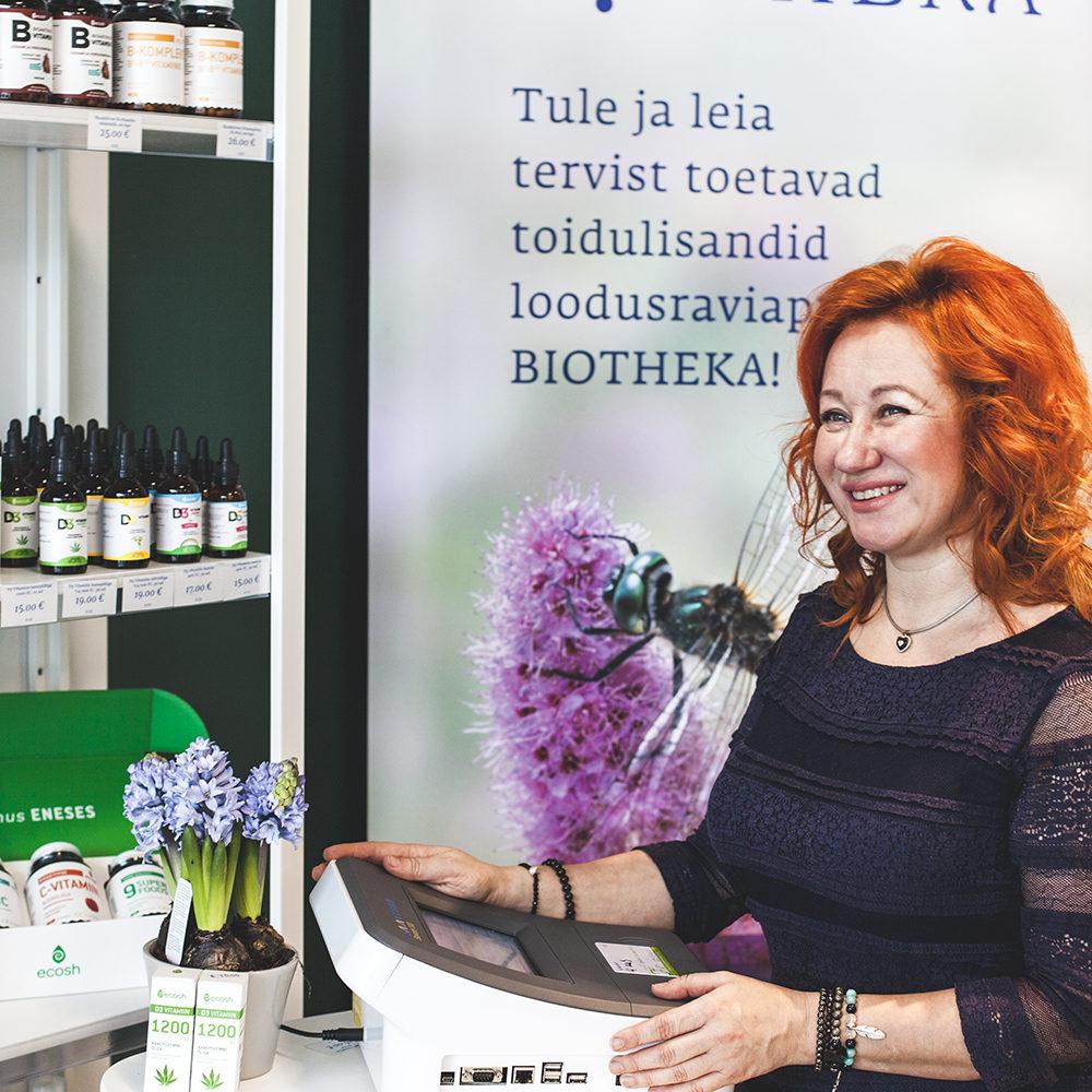 Biotheka personaalsed tervisepäevad aprillikuu kolmapäevadel