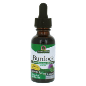 Nature's Answer Burdock Root, Takjajuure tõmmis alkoholivaba 30 ml